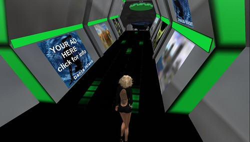 raftwet walking into dance island