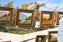 Art on the Farm; Pt. Reyes Vineyard, 2009