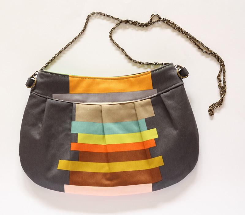 Patron gratuit Sac bouton d'or, Free Pattern Buttercup Bag
