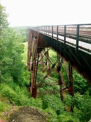 :) (heatherm815) Tags: mountain train cornwall tracks hike trestles mountainville tressels