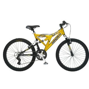 Mongoose Metric Dual-Suspension Mountain Bike (24-Inch Wheels)