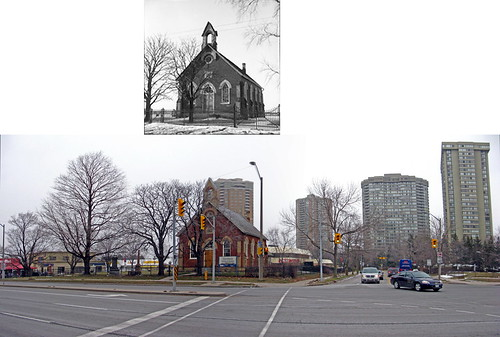 Zion Church on Finch Avenue East, Feb 8 1957, Dec 27 2009