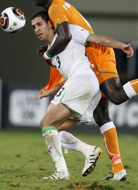 Rear View of Karim Matmour