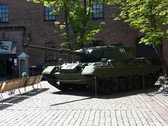 Leopard Tank (A.Nilssen Photography) Tags: akershus fortress festning 2009 festung oslooslo leopard1 leopard1a4