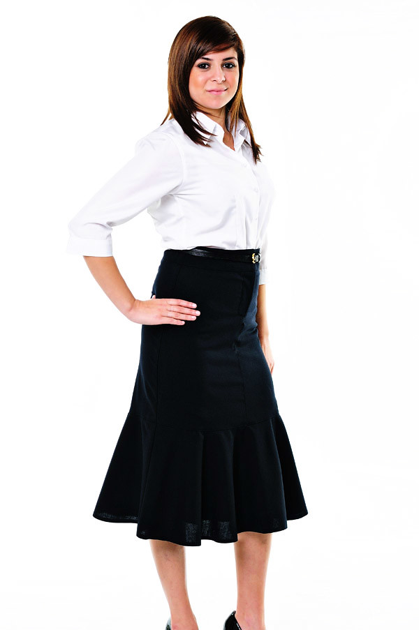 Corporate Fashion, Blouses - Studio White Background