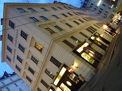 Wien, 1. Bezirk, Art of Facades of Vienna, Oberlaaer Stadthaus (Neuer Markt) (Josef Lex (new missions not yet accomplished!)) Tags: neuermarkt anglesanglesangles arethisbuildings