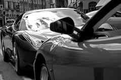Ferrari 458 Italia & F430 Spider (Adrian Brittlebank) Tags: red horse white black london one 1 spider italian nikon italia ferrari formula nikkor scuderia f430 prancing 458 d300s 1685mm