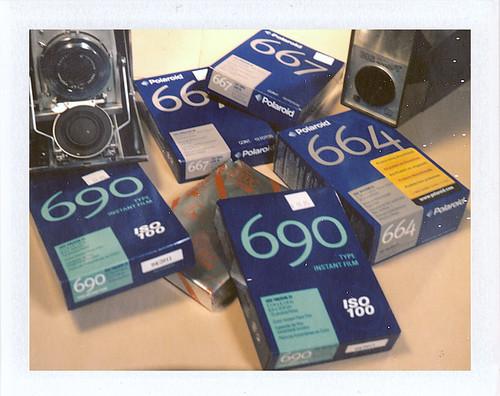 Polaroid Pack Film