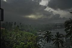 Hark the Monsoons Come - Raining in Kerala (Anoop Negi) Tags: ocean travel sea portrait cloud india storm beach rain weather clouds season shower photography for photo sand media day image photos nimbus delhi indian bangalore creative kerala images best monsoon cumulus arabia po mumbai anoop rains trivandrum primal monsoons negi kovalam primeval thiruvananthapuram photosof ezee123 bestphotographer imagesof anoopnegi jjournalism