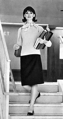 Colleen Corby article 1964 manners 12 (AngoraSox) Tags: girls blackandwhite newyork fashion fun fashionphotography retro highschool nostalgia 1960s coats manners conduct mountvernonhighschool deportment missmanners vintagefashions highschoollockers propriety vintageseventeenmagazine fliphairdo colleencorby mortengel retrofashions 1960sfashions highschoolhallway straightskirts fordfashionmodel seventeenmagazinefebruary1964 vintageschoolpictures