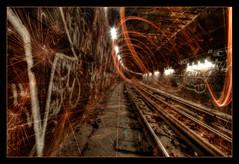 Oncoming (Pro-Zak) Tags: nyc longexposure brooklyn underground subway