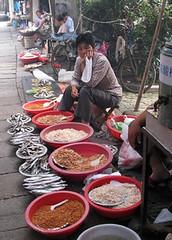 Fish market - Zhou Zhuang