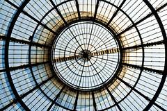 (meurer) Tags: italy milan glass circle milano symmetry ceiling symmetric centered vitral andremeurer