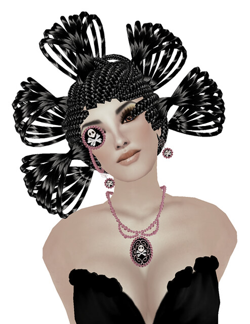 ((RIPE)) Beautifull Macabre Jewelery - Pink +  !MM! Golden Forest  75l