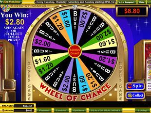 free Wheel of Chance slot bonus feature