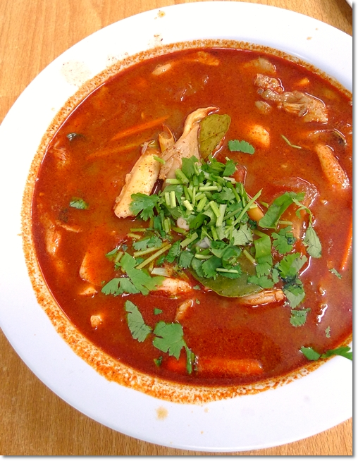 Fiery Hot Tom Yum Soup