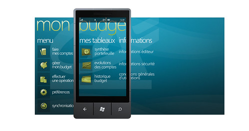 Crédit Agricole Windows Phone 7 Mon Budget-Home