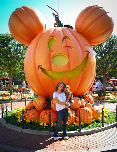 Mickey Pumpink at Disneyland