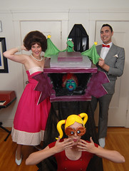Playhouse 2 (gildat20) Tags: costume peeweeherman penny peeweesplayhouse jambi missyvonne