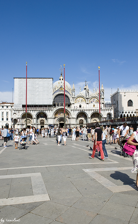 Piazza San Marco - view of the cathedral