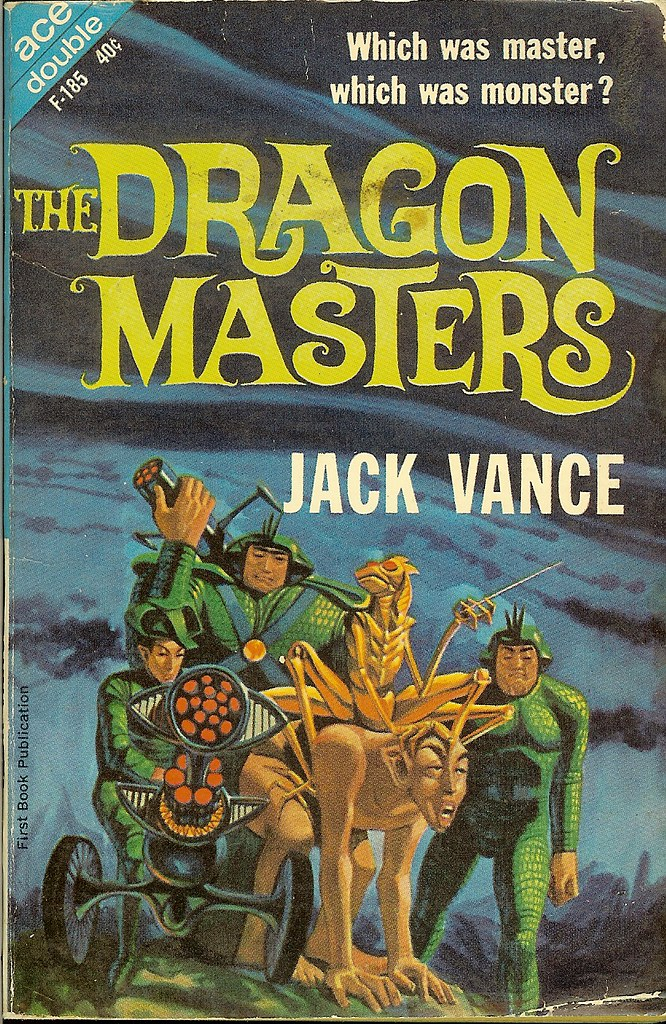Jack Gaughan - Cover Illustration for Jack Vance - The Dragon Masters, 1963
