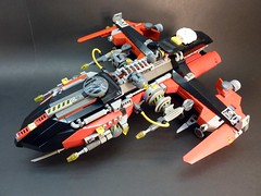 Hack 4000 (SuperHardcoreDave) Tags: fighter lego space future spaceship starship moc starfighter