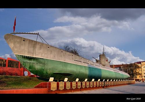 S-56 Submarine. Vladivostok.  Подводная лодка C-56. Владивосток. ©  Peer.Gynt