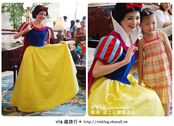 【香港住宿】跟著via玩香港(4)~迪士尼樂園酒店(外觀、房間篇)25