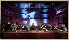The Last Supper II / La Cne / Ultima Cena (Abode of Chaos) Tags: portrait france matrix mystery museum architecture dark symbol bladerunner zombie preacher davinci apocalypse salamander robots freemasonry terrorism bible anarchy inri cyborg terminator drama madmax ddc salamandra worldwar mystic mystique cyberpunk symbolic marquis alchemy thedayafter modernsculpture prophecy 999 peakoil davincicode revelation leonardodavinci laultimacena lacena devinci 2052 demeureduchaos thierryehrmann alchimie finis quattrocento dramatique artpress ilcenacolo lonarddevinci abodeofchaos hakimbey postapo postapocalyptique actingperformance midnightdigital lacne postapocalytpic postapocalypticfiction saintmalachie 21decembre2012 apocalypticfiction opusmagnum christophedessaigne thelastsupperii lederniersouper finisgloriaemundi glisesantamariadellegraziedemilan newtestamentapocrypha 10800v10f