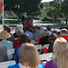 CSUCI President Richard R. Rush speaking at groundbreaking Ceremonies for John Spoor Broome Library