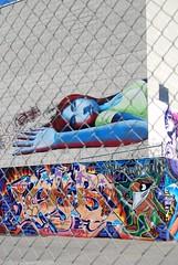 CAB Girl, CHB Piece - Los Angeles, CA (EndlessCanvas.com) Tags: california ca graffiti la losangeles otr kts chb otrgraffiti ktsgraffiti chbgraffiti