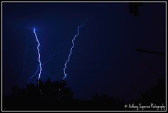 November Storm - 3 (Lightning) (Anthony S.) Tags: longexposure nature clouds australia lightning canoneos anthonys thunderstorms severeweather stormcell anthonysuperina therebeastormbrewin