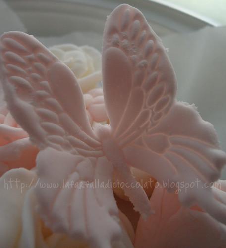 Farfalla in pasta di zucchero