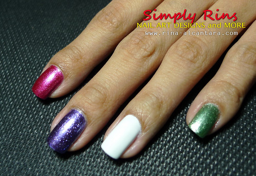 Nail Art Caronia Butterfly 12