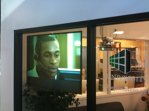 Promotional video ad in the UNT Department of Learning Services, College of Information