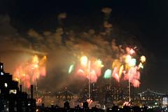 4th of July 2017 Macy's Fireworks-81 (Diacritical) Tags: brooklyn nycmacys nikond4 pattern 70200mmf28 30secatf71 july42017 85105pm f71 230mm 4thofjuly fireworks macysfireworks nyc night skyline