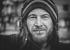 David (andy_8357) Tags: david sony a6000 6000 ilce6000 portrait retrato hat beard mustache mirrorless sigma 60mm f28 dn art pearl street st mall boulder colorado handsome alpha ilcenex monochrome blackandwhite blancoynegro blanco y negro blancetnoir bw rugged man lip piercing winter photography