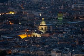 Panthéon & Tour Zamansky, Paris