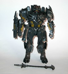 megatron transformers 5 the last knight premier edition voyager class 2017 hasbro a (tjparkside) Tags: megatron premier edition transformer transformers voyager class decepticon decepticons hasbro 2017 tlk last knight thelastknight evil sword axe shield jet airplane aircraft cybertron cybertronian merciless tyrant 5 five episode v