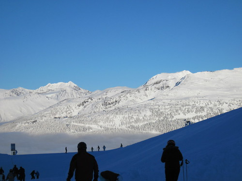 Blackcomb Mountain from Whistler