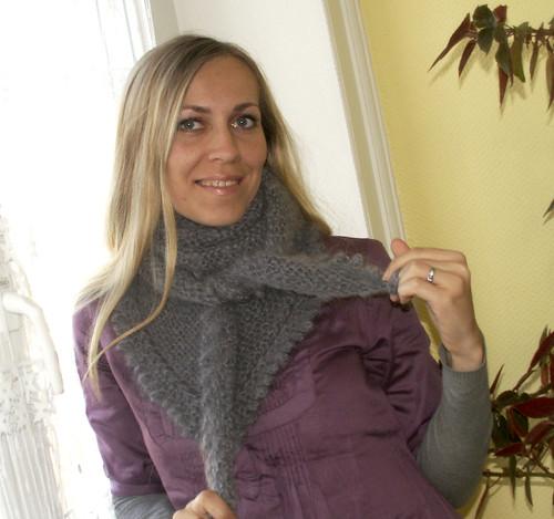 bloshka's grey shawl