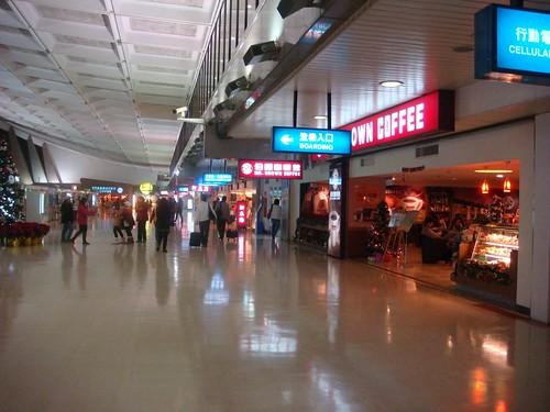 桃園國際機場一景