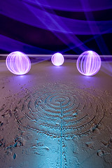 Tri-orbified sand CnR (- Hob -) Tags: lightpainting circle raw orb led sphere seashore lightball lightsphere lapp coldcathode kingedwardsbay orbage lightorb 光绘 chattonparkhill lightjunkies cupandringmark 光の絵画 lightartperformancephotography wwwfacebookcompageslightpaintingorguk517424921642831