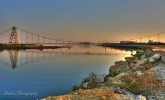 ( SEA 3 ) (Muhammad Habib Photography) Tags: bridge pakistan sea building nature club creek marina golf boats evening explore karachi hdr landcape dha korangi flickraward 1000d superaward canoneos1000d muhammadhabib