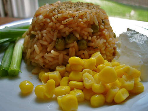 Rice Pilaf with Tomato Paste