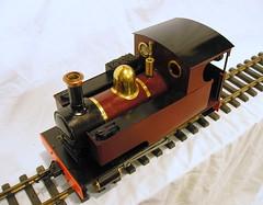 Accucraft Caradoc Live Steam Loco (trainsandstuff) Tags: railroad train railway trains steam 16mm caradoc livesteam gscale largescale sm32 accucraft