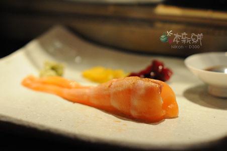 鮭魚肚前段握壽司