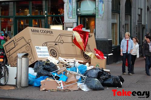 mini cooper 圣诞广告1