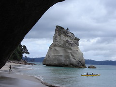View from Cathedral Cove