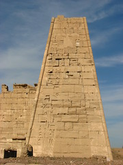 Pylon (Sparky the Neon Cat) Tags: africa west temple iii egypt bank pylon third luxor ramses medinet mortuary rameses ramesses habu